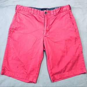 J. Crew Men's Stretch Chino Shorts Pink Size 30